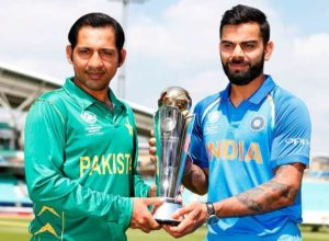 Cricketing world erupt ahead of the Champions Trophy Final