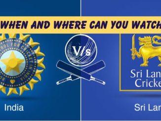 Watch Sri Lanka vs India live