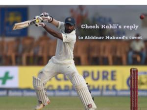 Twitter reacts on Abhinav Mukund's emotional message