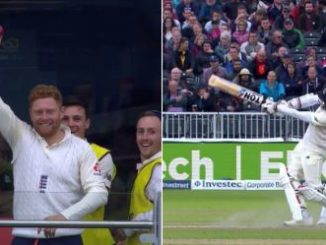Bairstow catching off Moeen Ali's six
