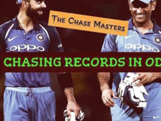 chasing records in cricket