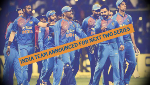 Indian Team For New Zealand T20 Series