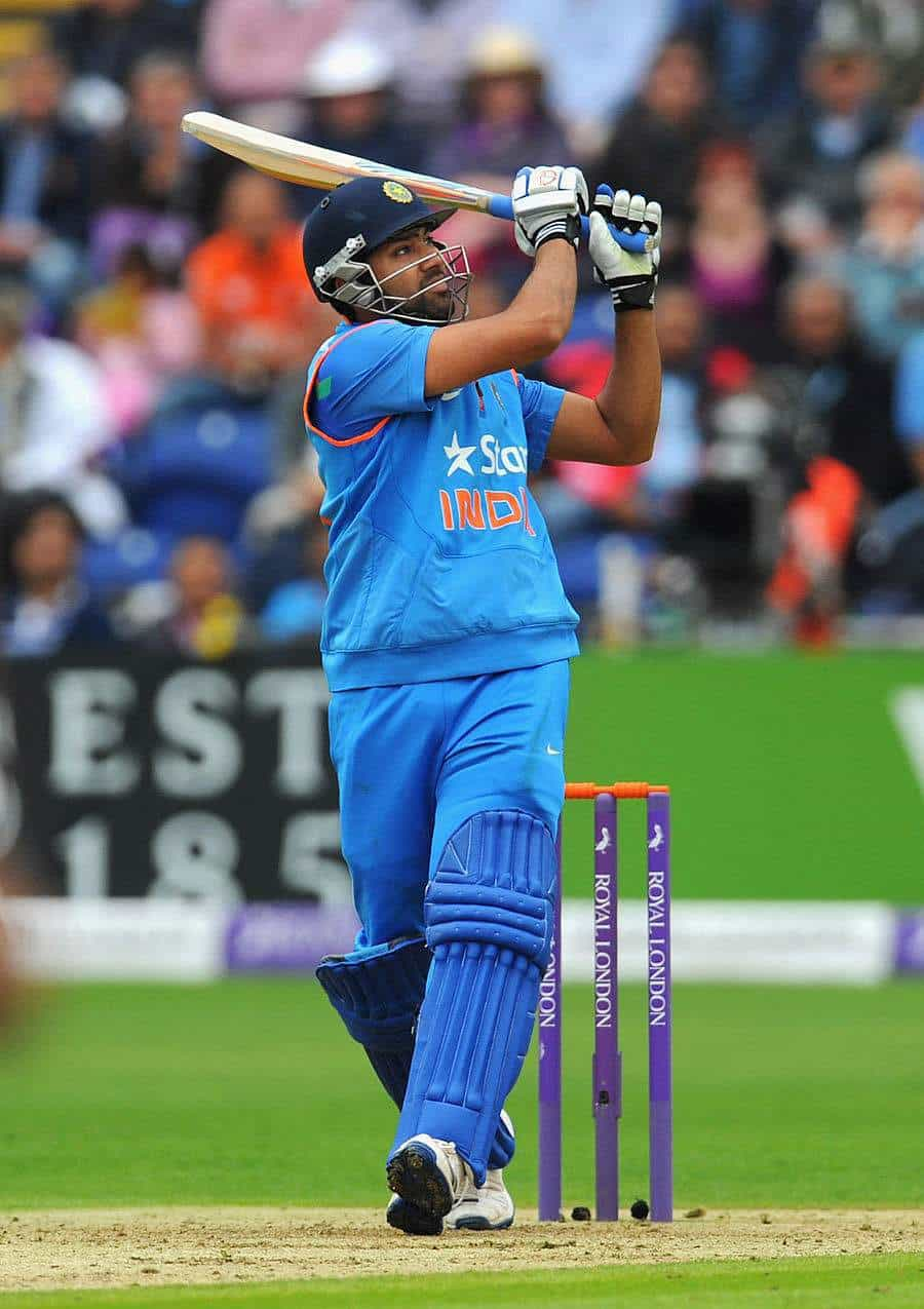 Rohit sharma most sixes against Australia