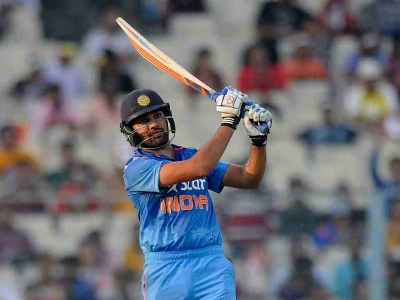 Rohit hitting sixes