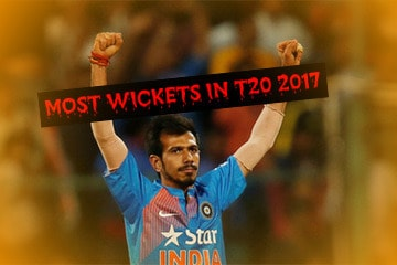 Most wickets in t20 in 2017
