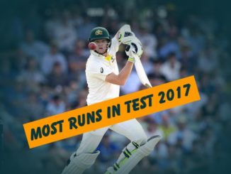 most runs in tests in 2017