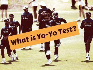 Yo-Yo Test in cricket