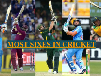 most sixes in cricket