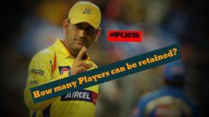 IPL 2018: Player Retention & RTM