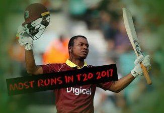 MOST RUNS IN T20 IN 2017