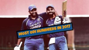 Cricket Stats: Most Centuries in ODI in 2017