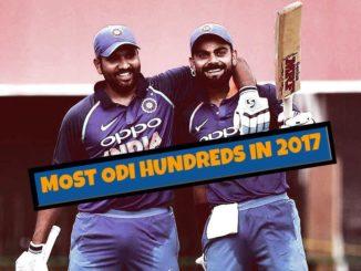 most centuries in odi 2017