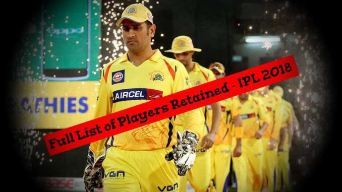 IPL PLayer Retention