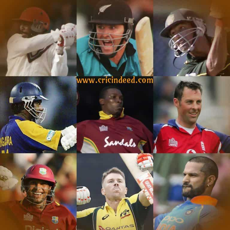 players who scored century in their 100th ODI