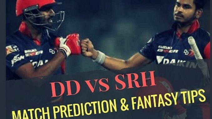 prediction srh vs dd