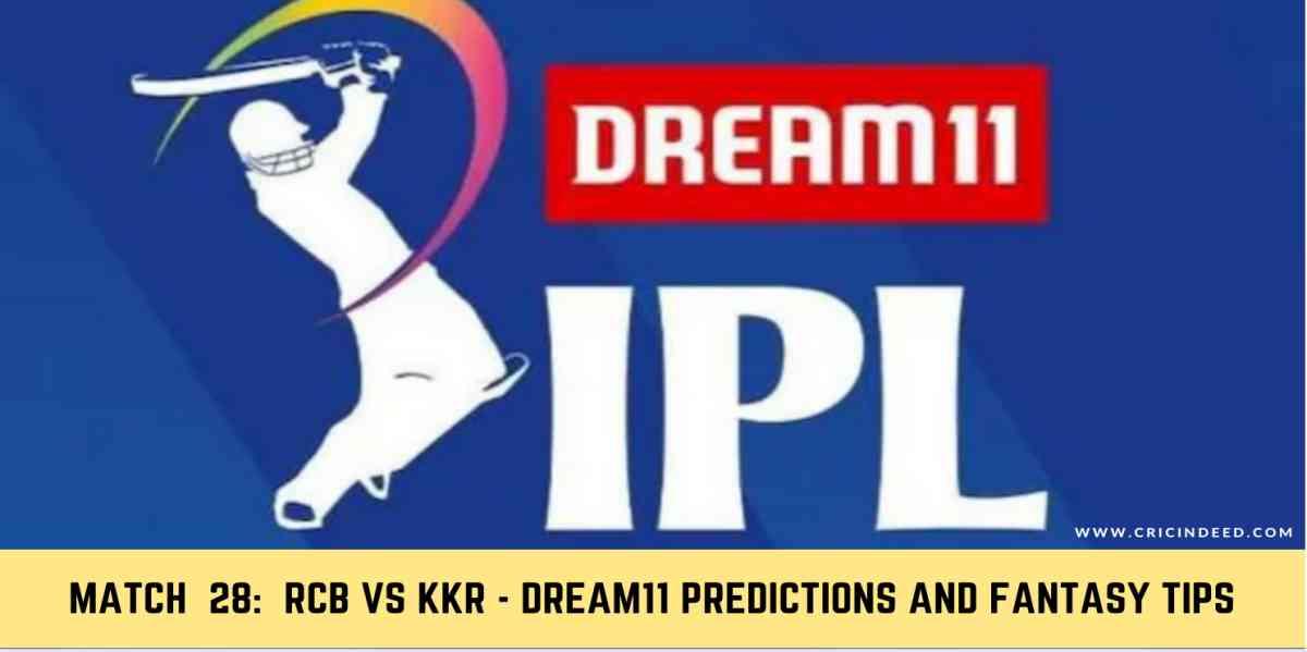 Fantasy Tips: Match 28 - RCB vs KKR - IPL 2020 Dream11 ...